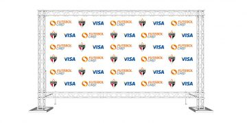 visa backdrop